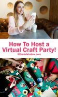 How to host a virtual craft party