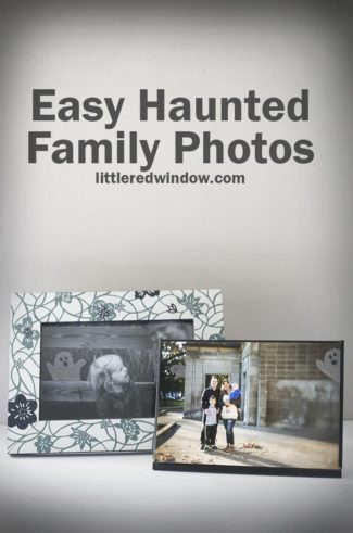 Halloween Haunted Family Photos