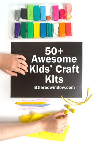 50+ Awesome Kids' Craft Kits