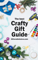 small Crafty Gift Guide for Crafters littleredwindow