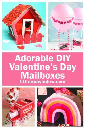 Adorable DIY Valentine's Day Mailbox Ideas!