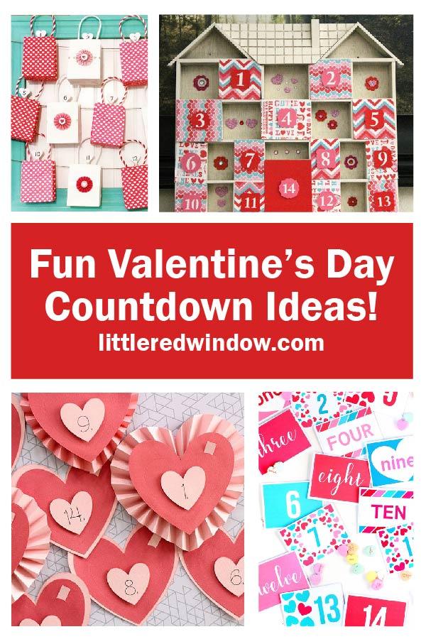 Fun Valentines Day Countdown Ideas