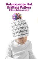 small Kaleidoscope Hat Knitting Pattern 01b littleredwindow