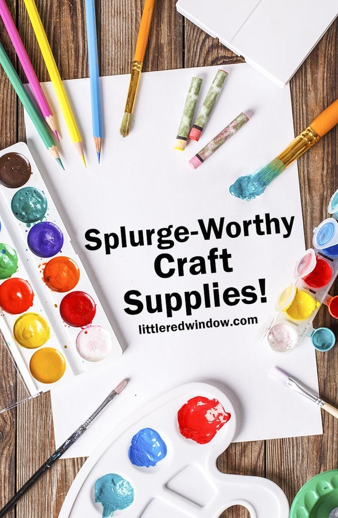 These splurge-worthy craft supplies will take your crafting to the next level and bring you extra joy and fun while you craft!